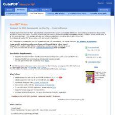 CUTEPDF WRITER