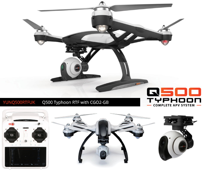 Yuneec Q500 Typhoon Quadcopter Drone